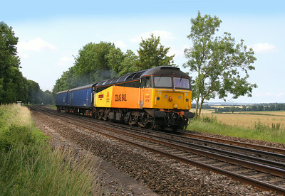 47739 Micheldever 11/07/14 4Z58 Eastleigh to Doncaster