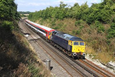 47812 Popham 07/09/16 5T42 Stewarts Lane to Eastleigh with 2416