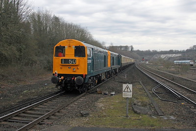 20189 Micheldever 07/04/18 on the rear of 5Z19 Eastleigh to Waterloo