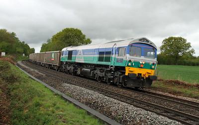 59002 Oakley 05/05/15 6O12 Westbury to Woking