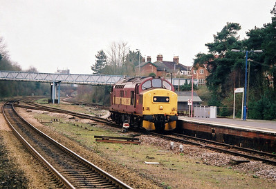 37174 Andover 0Y21 Ludgershall to Eastleigh
