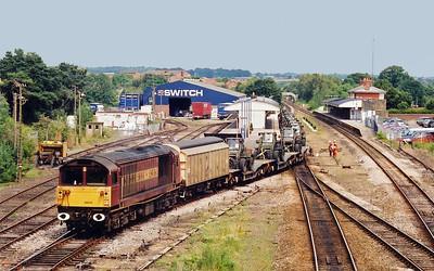 58016 Andover 6O19 Didcot to Ludgershall