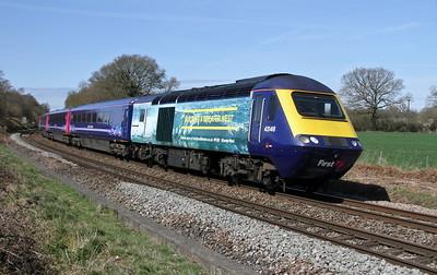 43146 Oakley 12/04/15 1O37 Plymouth to London Waterloo