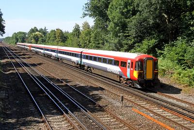 2415 Old Basing 24/08/16 5O42 Eastleigh to Eastleigh