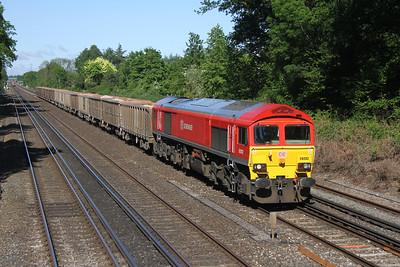 59202 Old Basing 23/05/16 6O12 Westbury to Woking