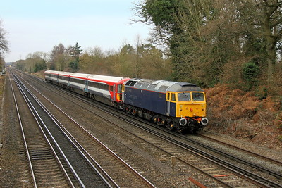 47815 Old Basing 06/01/17 5L46 Eastleigh to Ely Papworth Siding with 2423