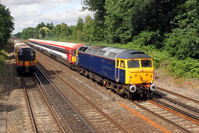 47812 Old Basing 03/08/16 5E42 Eastleigh to Ely Papworth Sidings with 442422