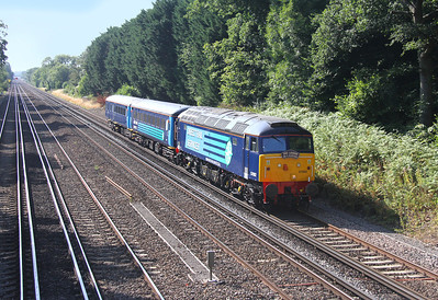 57002 Old Basing 05/09/13 5Z70 Eastleigh to Crewe