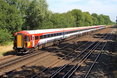 2403 Old Basing 24/08/16 5O42 Eastleigh to Eastleigh