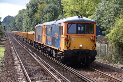 73205 Shawford 19/08/06 6G12 11.46 Eastleigh to Purley with 73206