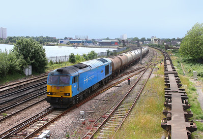 60074 St Deny's 04/07/13 6B94 Fawley to Eastleigh