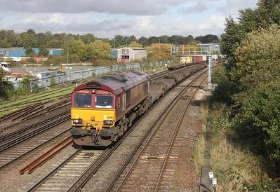 66149 Northam 24/10/13 4O53 Wakefield to Southampton Western Docks