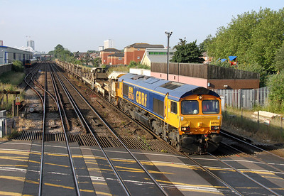 66704 Northam 22/06/14 6G15 Wareham to Eastleigh