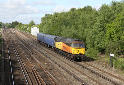 47727 Worting Junction 29/05/13 4Z47 Eastleigh to Wimbledon