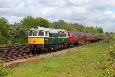 33012 Worting Junction 10/05/18 1Z33 Ealing Broadway to Swanage 'Purbeck Explorer' with 4TC unit and 20007 and 20142