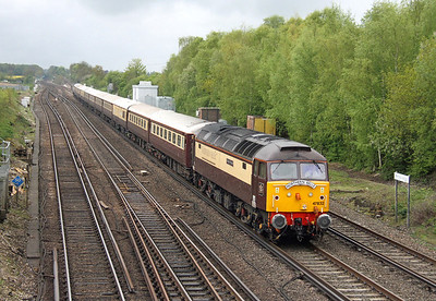 47832 Worting Junction 01/05/14 1Z20 Southampton to London Victoria
