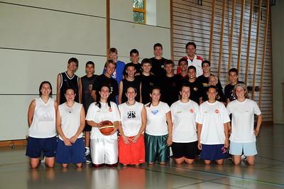 Basket Benjamins 95  2009 - 2010