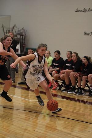 HCHS freshman girls vs Byron Center