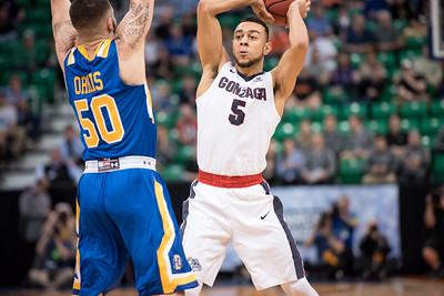 No. 1 Seed Gonzaga vs. No. 16 Seed SDSU
