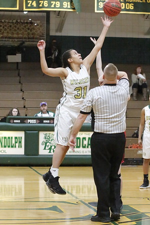 1/24/18 Eastern Randolph vs Wheatmore girls basketball