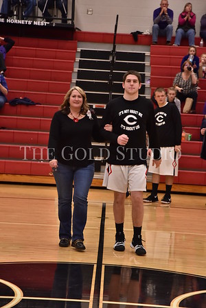 Chesapeake at Coal Grove Senior boys night 2-7-2018