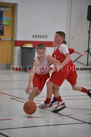 Rock Hill LL Basketball action 1-6-2018
