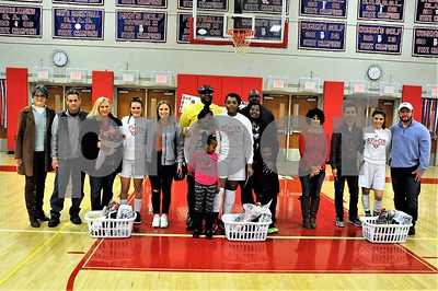 BHS GIRLS BASKETBALL SR NIGHT VS MALONEY 2-7-19
