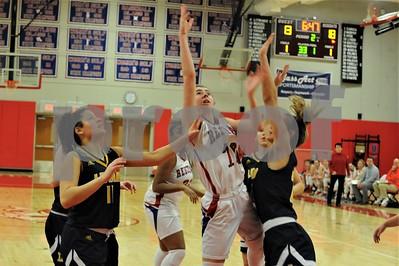 BHS GIRLS BASKETBALL VS LEDYARD 1-31-19