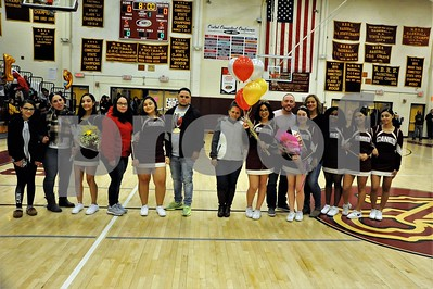 NBHS CHEERLEADERS SR NIGHT VS RAAM 2-15-19