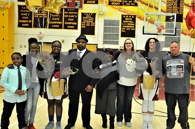 NBHS GIRLS BASKETBALL SR NIGHT VS PLAINVILLE 2-4-19