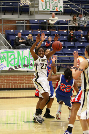 Mansfield Girls BB vs Grapevine - 2010-11