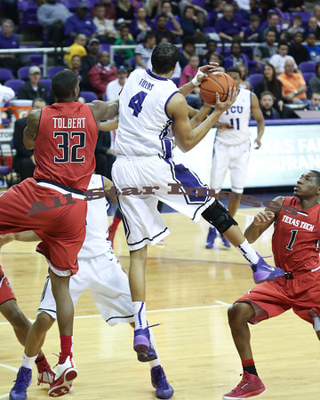TCU Mens BB vs Texas Tech - 2014