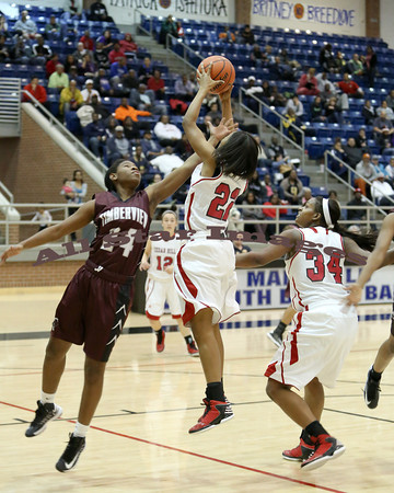 Cedar Hill Girls Var BB vs Timberview - 2012
