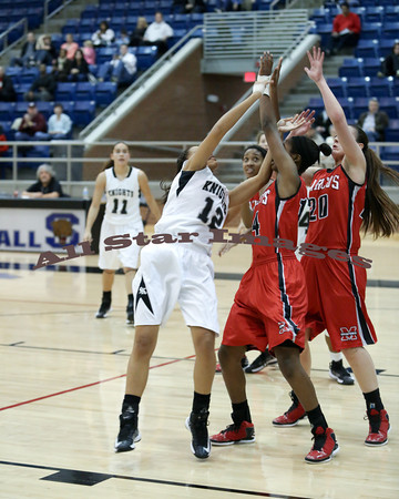 Marcos Girls Var BB vs Steele - 2012