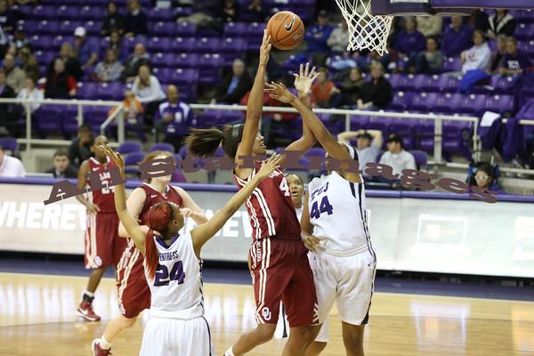 TCU Womens BB vs OU - 2012