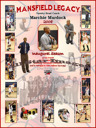 Legacy Varsity Basketball Collages  2007-08