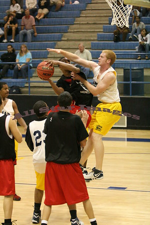 Legacy Varsity vs Lamar, Scrimmage  2007-08