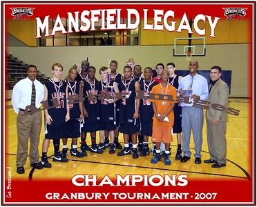 Legacy Varsity vs Sam Houston - Championship Game, Granbury Tournament - 2007-08