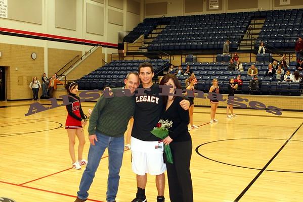 Varsity Senior Night - 2007-08