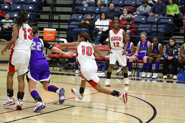 Legacy Girls Varsity vs Crowley, Game #1