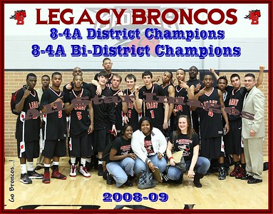Legacy Mens Varsity vs Southwest - Bi-District Playoff - 2008-09