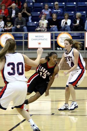 Mansfield Legacy Girls Varsity vs Boyd - 2008-09