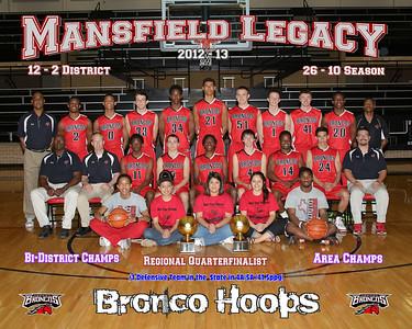 Legacy Varsity team 2012-13  20x16 photo