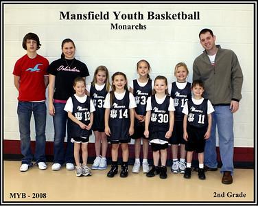 MYB Monarchs - 2nd Grade - 2007