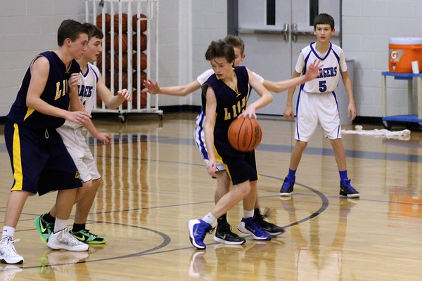 01.26.16 8th grade gold vs. Dallas Christian
