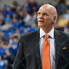 St. Joseph's Hawks head coach PHIL MARTELLI during a conference game  between St. Louis University Billikens and St. Joseph's Hawks played in St. Louis, MO. at Chaifetz Arena.  Where St. Louis defeats St. Joseph 68-61