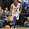 St. Louis Billiken guard ASH YACOUBOU (3) starts a fast break down the court during a conference game  between St. Louis University Billikens and St. Bonaventure Bonnies played in St. Louis, MO. at Chaifetz Arena.  Where St. Bonaventure defeated St. Louis 64-48.