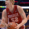NCAA Basketball 2015-MVC Tour-Bradley beat Drake 52-50 OT