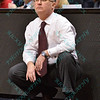 Southern Illinois head coach BARRY HINSON at the Missouri Valley Conference, Arch Madness Tournament game three where Wichita State defeated Southern Illinois by the score of 56-45