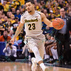 Wichita State Shockers guard FRED VANVLEET (23) at the Missouri Valley Conference, Arch Madness Tournament game three where Wichita State defeated Southern Illinois by the score of 56-45